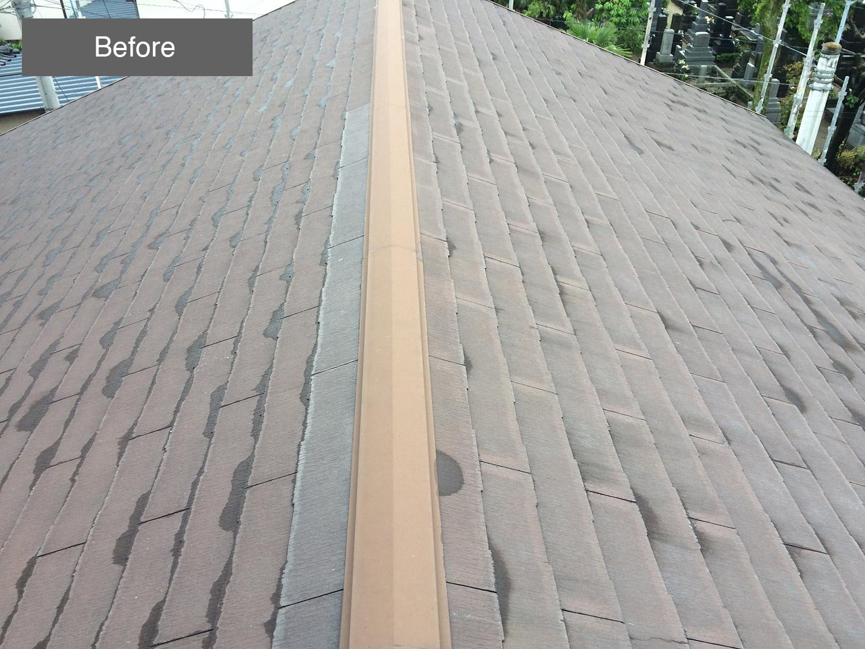 屋根塗装事例 Before