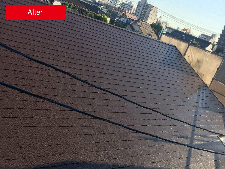 屋根塗装事例 After